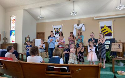 Sunday School Starts on September 8th